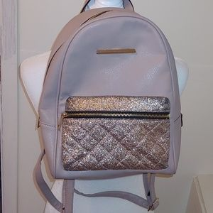 Beige/light ivory backpack